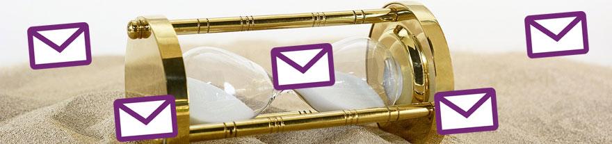 """Gibt es ein """"zu selten"""" für den Newsletter-Versand?"""